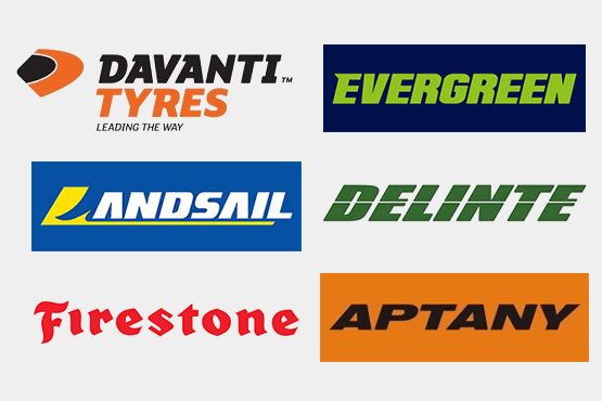 Leading Tyre Brands - Order Tyres Online in Glenrothes, Fife