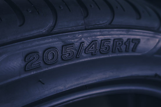 How to read your tyre sizes